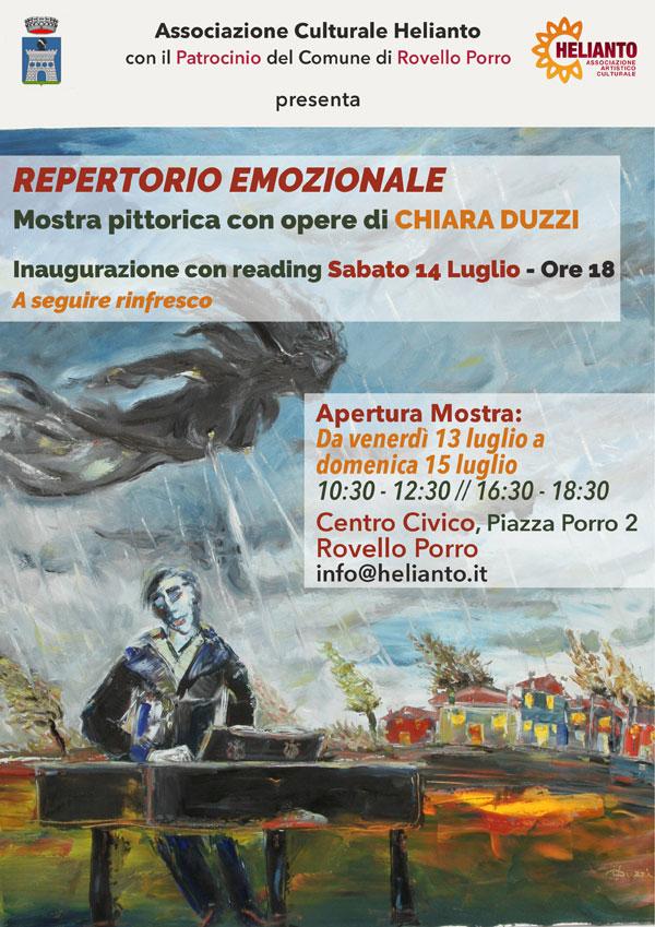 Chiara Duzzi - Repertorio Emozionale