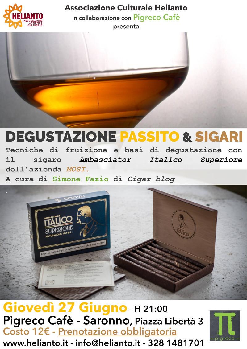 Degustazione Sigari e Passito!