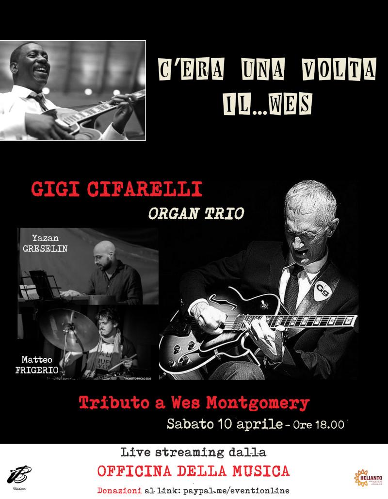 Gigi CIFARELLI organ trio: tributo a Wes Montgomery