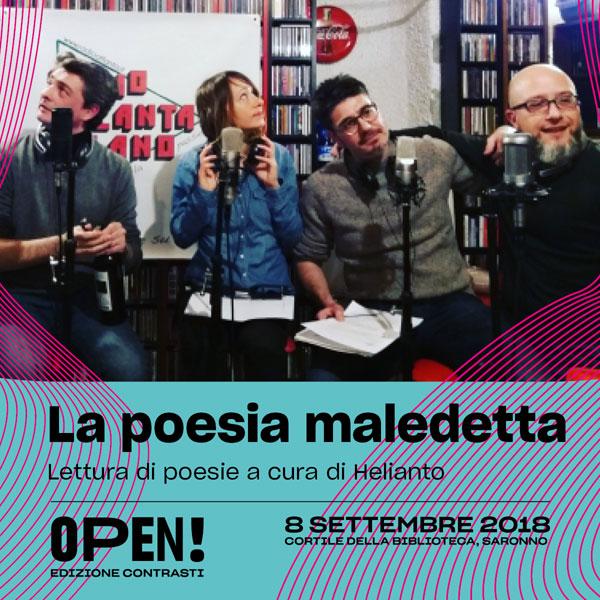 Helianto ore 21 a OPEN! edizione contrasti | free entry,
