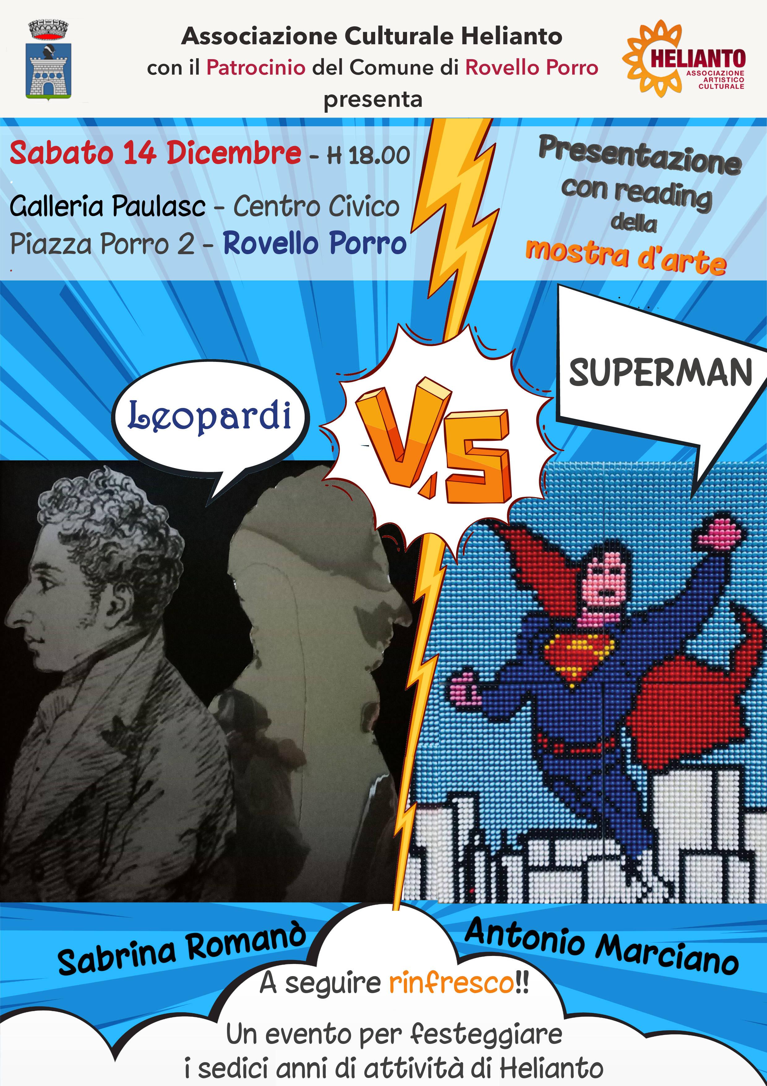 Leopardi Vs Superman - Mostra D'arte