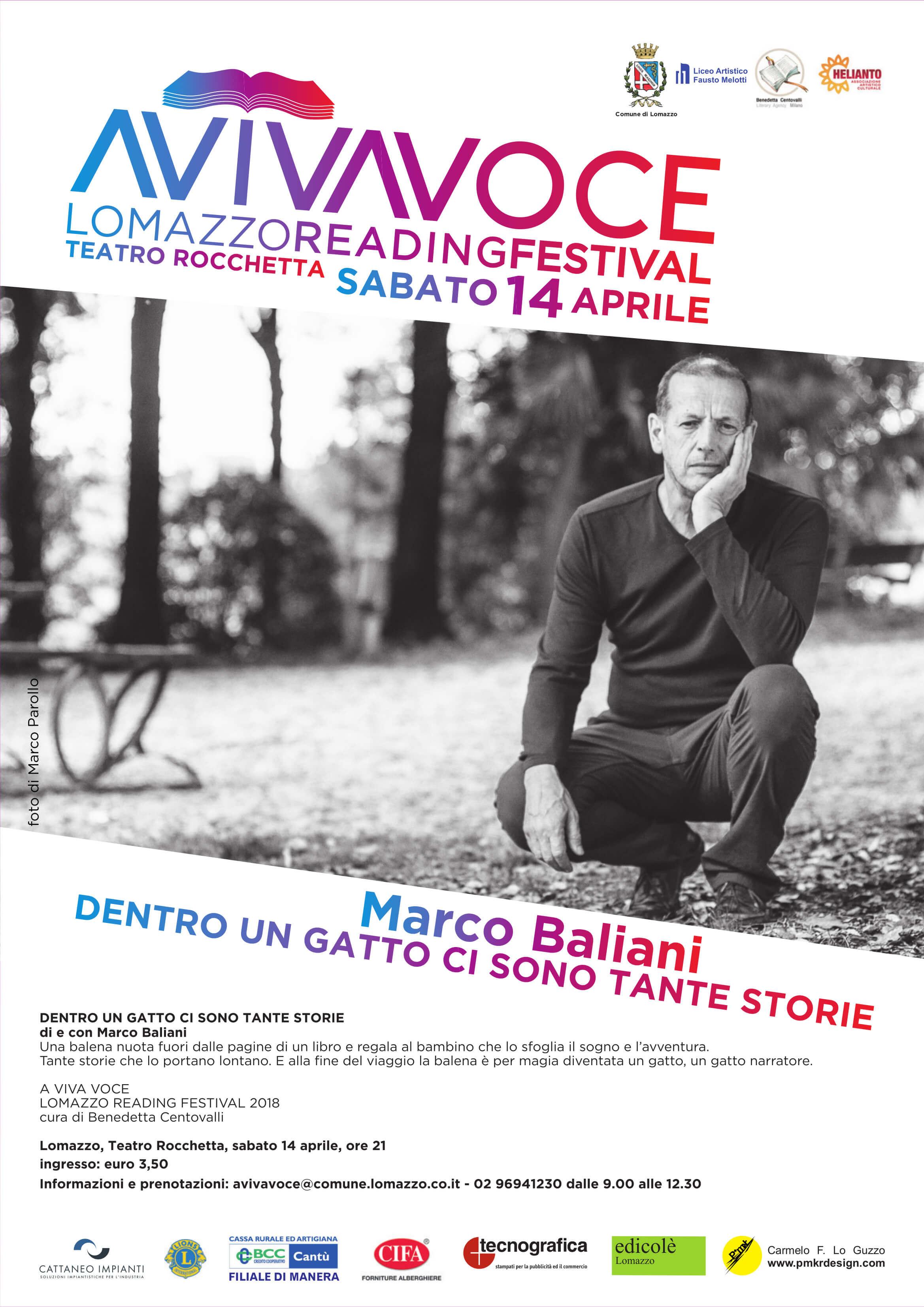 Marco Baliani in DENTRO UN GATTO CI SONO TANTE STORIE